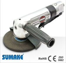 """SUMAKE AIR ANGLE GRINDER JAPAN PNEUMATIC TRADE QUALITY TOOLS 4"""" CE ISO SPECIAL"""