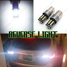 P21W 1156 382 BA15S Rear LED Canbus REVERSE WHITE Lamps Light Bulbs For Toyota