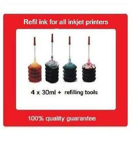 Refill kits for Canon HP65 & HP65XL black+colour ink cartridges hp 2620/3720