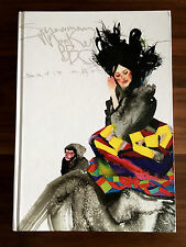 DAVID CHOE Snowman Monkey BBQ * SIGNED * First Edition Art Book Cursiv Slow Jams