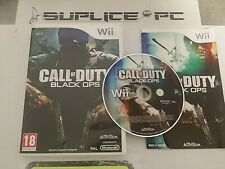 CALL OF DUTY BLACK OPS (AVEC NOTICE) - WII - JEU FR