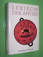 Lexikon der Antike - Johannes Irmscher Renate Johne - 1990 Weltbild Geb. (44)