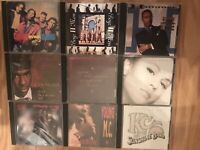 Lot of 9 R&B CD's McC Hammer Boys II Men Mariah Carey