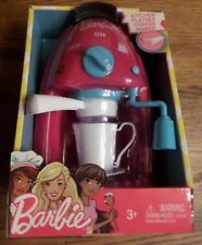 BARBIE KITCHEN PLAYSET COFFEE MAKER W/LIGHT, SOUNDS & MUSIC, 3+ NIB