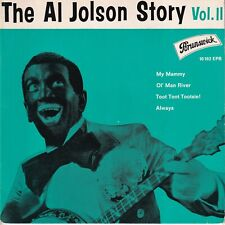 7inch THE AL JOLSON STORY VOL II EP GERMAN EX+ (S3484)