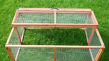 FOLDING RABBIT GUINEA PIG RUN RUNS COLLAPSIBLE HUTCH