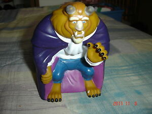 Pizza Hut Promo Disney Beauty & the Beast puppet Beast 1990