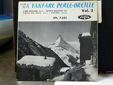 LA FANFARE PERCE-OREILLE VOL 3 L'ami Edouard EPL.7.585