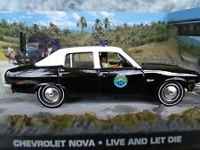 1/43 Chevrolet Nova  James Bond Live And Let Die 007 series  diorama