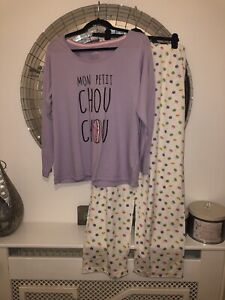 new SIMPLY BE - Pyjamas Loungewear Size 16 - 18 fun MACAROON PRINT look