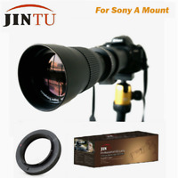 JINTU 420-800mm Super Telephoto Lens for Sony A-mount A900 A850 A550 A77 A580