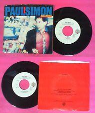 "LP 45 7""PAUL SIMON Allergies Think too much 1983 usa WARNER 29453-7 no cd mc vhs"