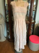 Vintage Old Hollywood Style Nightgown Size M