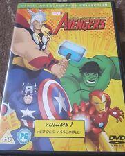 AVENGERS EARTH'S MIGHTIEST HEROES VOLUME 1 HEROES ASSEMBLE DVD MARVEL 7 EPISODES