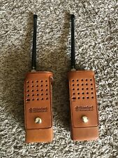 Standard Communications Vhf Fm Vintage Pair Of Radios Hx300V Rare Model Untested