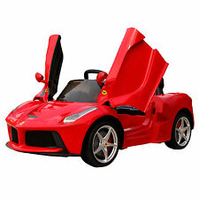 New 2017 Rastar La Ferrari 12v Electric Red Ride On Car Parental Remote Control