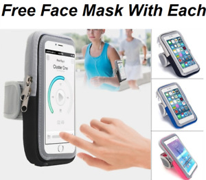 Sports Gym Running Armband for Apple iPhone SE 12 11 XS XR X 8 7 Plus Arm Band