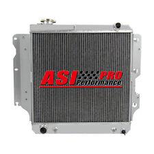 PRO 3-ROW CORE FULL Aluminum Radiator For 87-06 Jeep Wrangler YJ TJ 2.4L-4.2L