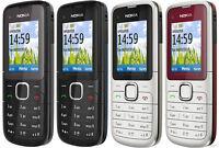 NUEVO Nokia c1-01 Gris Libre Cámara Bluetooth teléfono móvil original barato