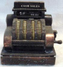 Vintage NATIONAL CASH REGISTER Novelty Pencil Sharpener MINIATURE WITH ACTION