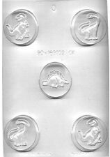 Dinoasurs Cookie Chocolate Candy Mold from CK #169102