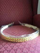 Gold Girls Pyramid Studded Belt Size L 28-30 Inch New