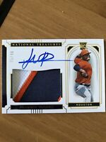 FRAMBER VALDEZ 5/49 Auto RPA Rookie Patch 2019 Panini National Treasures ASTROS