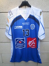 Maillot MARSEILLE VOLLEY 13 porté KERBOUA n°13 maglia PANZERI shirt jersey LNV 6