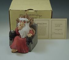 Krystonia England N'Borgs Throne Figurine #6828 New