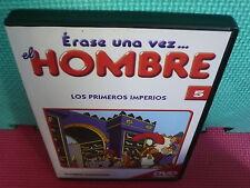 ERASE UNA VEZ EL HOMBRE - N.5 - LOS PRIMEROS IMPERIOS - dvd