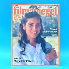 DDR Filmspiegel 26/1989 Charlie Sheen Humphrey Bogart Maria Andergast M. Krug H