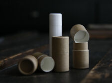 50 pack .2 oz 5 g Paperboard Push Up Tubes 1/5 ounce / 5 ml Containers