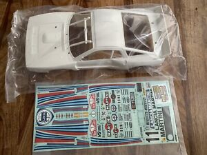 TAMIYA Lancia 037 Body Shell And Decals 58654 1/10 Rc Car Parts