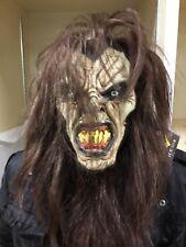 No silicio sorprendente Hombre Lobo Monster Wow Máscara De Disfraz De Halloween Vestido de fantasía
