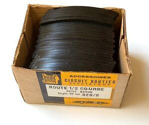 Jouef circuit voitures slot 25 x  Rails 1/2 courbe réf 320/2 + boîte NEU OVP