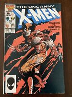 UNCANNY X-MEN #212 1986 -1st WOLVERINE-VS-SABRETOOTH BATTLE!  Copper Age Classic
