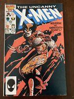 UNCANNY X-MEN #212 1986 -1st WOLVERINE-VS-SABRETOOTH BATTLE!  Copper Age Classic