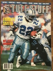 Tuff Stuff Trading Card Price Guide January 1994 Emmitt Smith Cover
