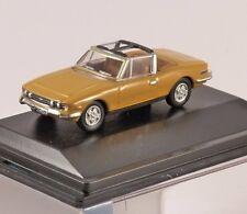 TRIUMPH STAG in Saffron 1/76 scale model OXFORD DIECAST