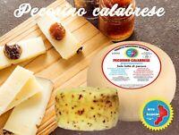 formaggio pecorino calabrese semi stagionato pepato o non 800g artigianale
