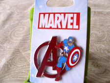 Disney * CAPTAIN AMERICA - MARVEL * New on Card Character Trading Pin