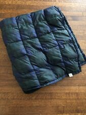 "Eddie Bauer Goose Down 50"" X 58"" Stadium Throw Blanket"