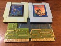 Challenge of the Dragon + Metal Fighter Nintendo Nes Colored Dreams Tested RARE