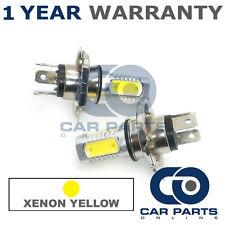 2x XENON AMARILLO H4 LED CREE LUZ De Cruce Bombillas Para Mazda SUZUKI Lexus