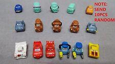 *SEND RANDOM* Lot 10pcs SQUINKIES Disney Pixar Movie Cars Toys WITHOUT CONTAINER
