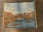 vintage Italian tapestry fabric