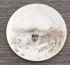 Royal Doulton Country Life Plate The Otter By Jane Neville 1986