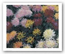 Chrysanthemum Claude Monet Art Print 29x24