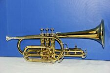 King Tempo Cornet model 602 with Original Case and a King mouthpiece