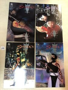 Shado Song Of The Dragon (1992) #1 2 3 4 1-4 VF/NM Complete Set from Green Arrow